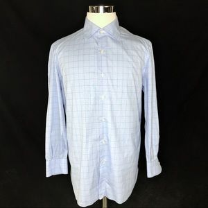 ISAIA Mens long sleeve button up 16 1/2 - 42